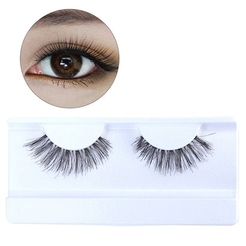 Pairs of Natural Soft 3D False Eyelashes Hair Long Thick Lashes for Women Gril Lady