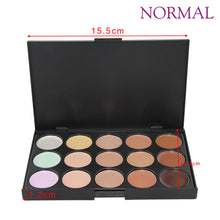 Concealer Palette Makeup 15 Colors Cream Base Palettes Matte Contouring Foundation Face Facial Cosmetic Set Contour Cosmetic