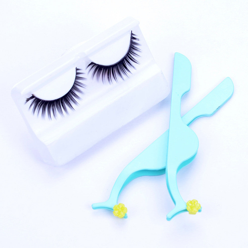 Hot False Eyelashes Extension Applicator Remover Clip Tweezer Nipper Beauty Tool