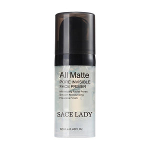 SACE LADY Face Base Primer Makeup 6ml Liquid Matte Make Up Fine Lines Oil-control Facial Cream Brighten Nude Foundation Cosmetic