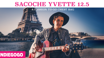 SACOCHE YVETTE 125 -  A FASHION TO-GO CHEST BAG