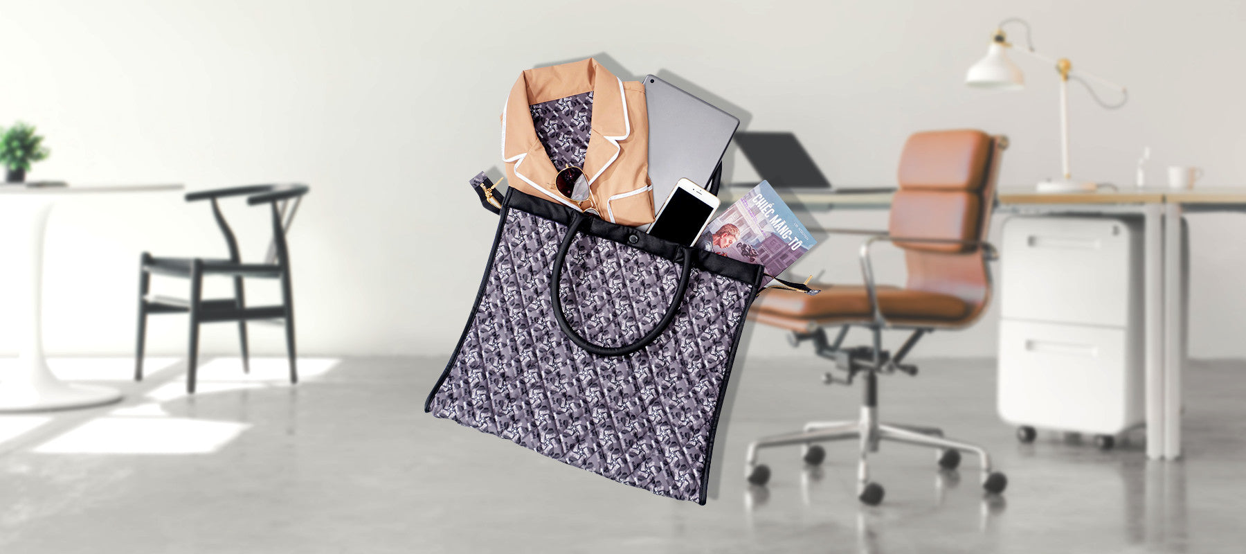 Max sax - tote bag for working day