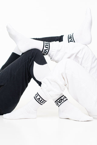 Omar and Klaus retro style socks [UNISEX]