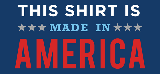 """Made In America"" T-Shirt"