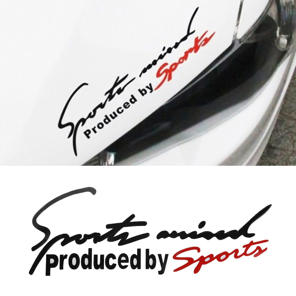 Sport Decal Automotive Hood Sticker