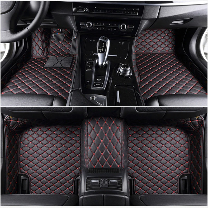 Custom Diamond Stitching Floor Mats