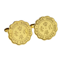 Elizabeth II Twenty cents coin cufflinks