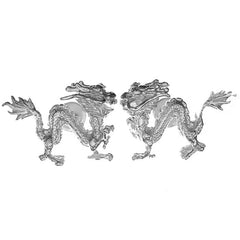 Chinese Dragon Cufflinks
