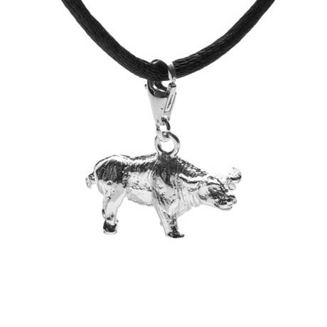 Chinese Ox Charm
