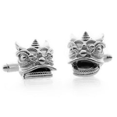 Southern Chinese Lion cufflinks