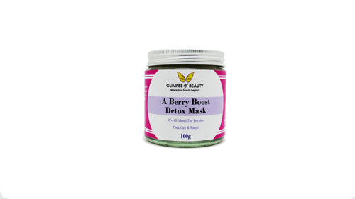 Berry Boost Detox Mask, Maqui berry and Australian pink clay