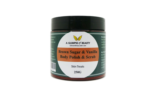 Body Scrub Vanilla & Brown Sugar