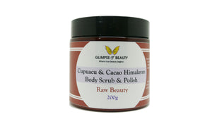 Cupuacu & Cacao Body Polish and Scrub Himalayan