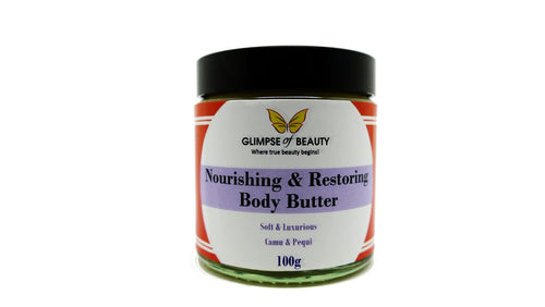 Camu Camu Oil & Pequi Body Butter