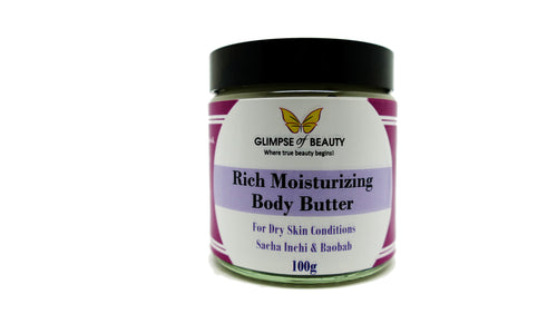 Body Butter Sacha Inchi Oil And Baobab Oil 100G