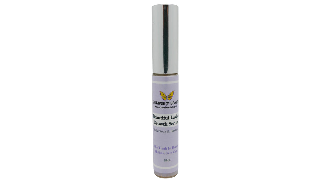 Eyelash Serum, Beautiful Lashes, Eyelash growth Enhancer Biotin, Silica, Blueberry seed oil