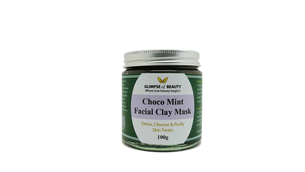 Choco Mint Facial Clay Mask