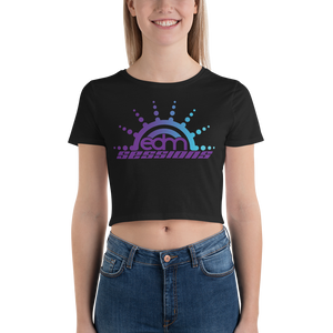 Sunburst Logo - Women's Crop Tee
