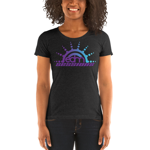 Sunburst Logo - Ladies' short sleeve t-shirt