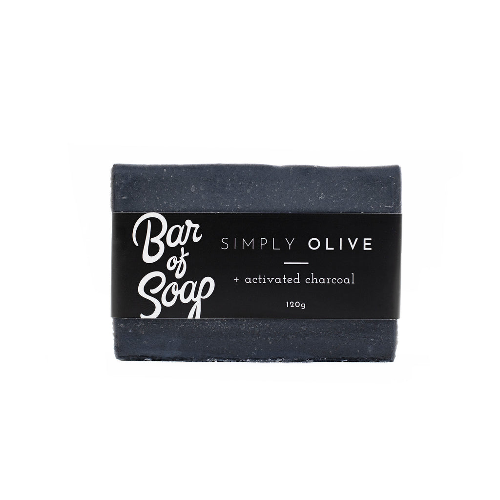 Simply Olive + Activated Charcoal