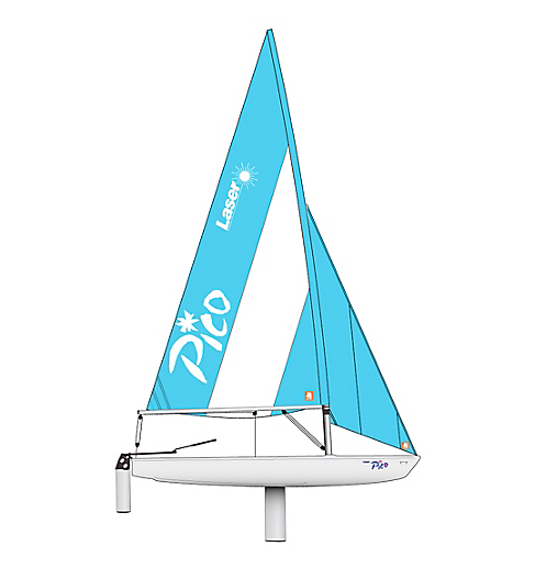 Worldwide delivery New Laser Pico Jib Dacron for Sailing Dinghy Boat