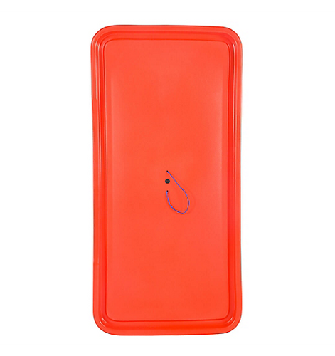 Storage Box Lid, Bahia, Red