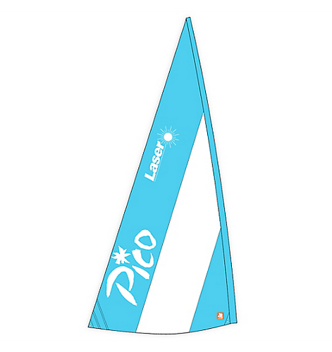 Sail, Pico, Main, Blue/White