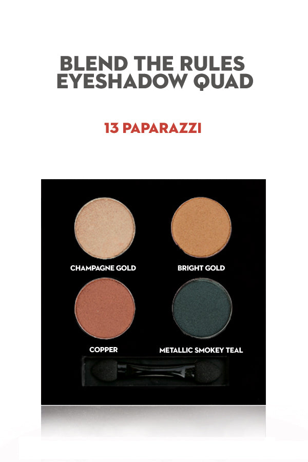 SUGAR Blend The Rules Eyeshadow Quad - 13 Paparazzi