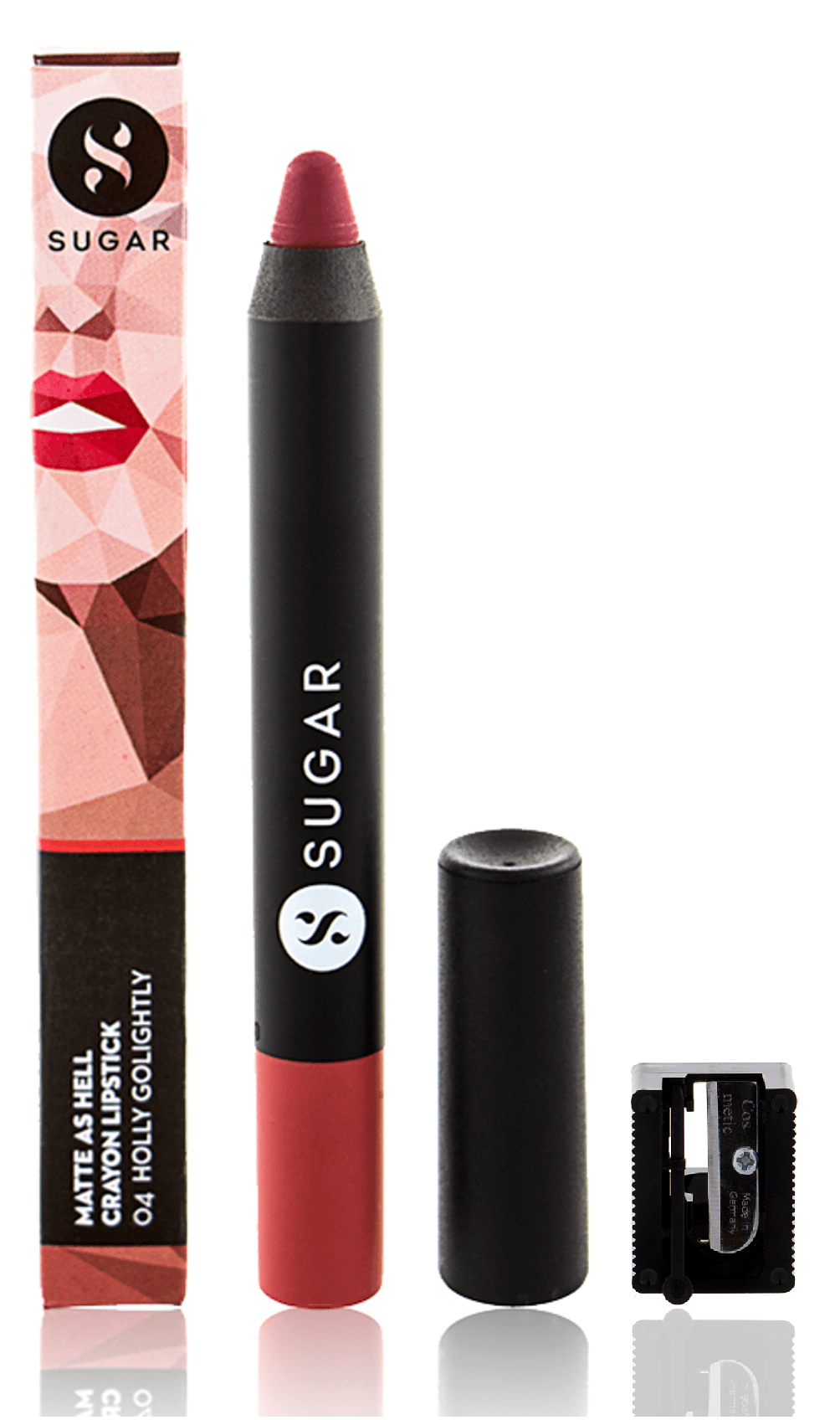 SUGAR Matte As Hell Crayon Lipstick - 04 Holly Golightly (Nude)