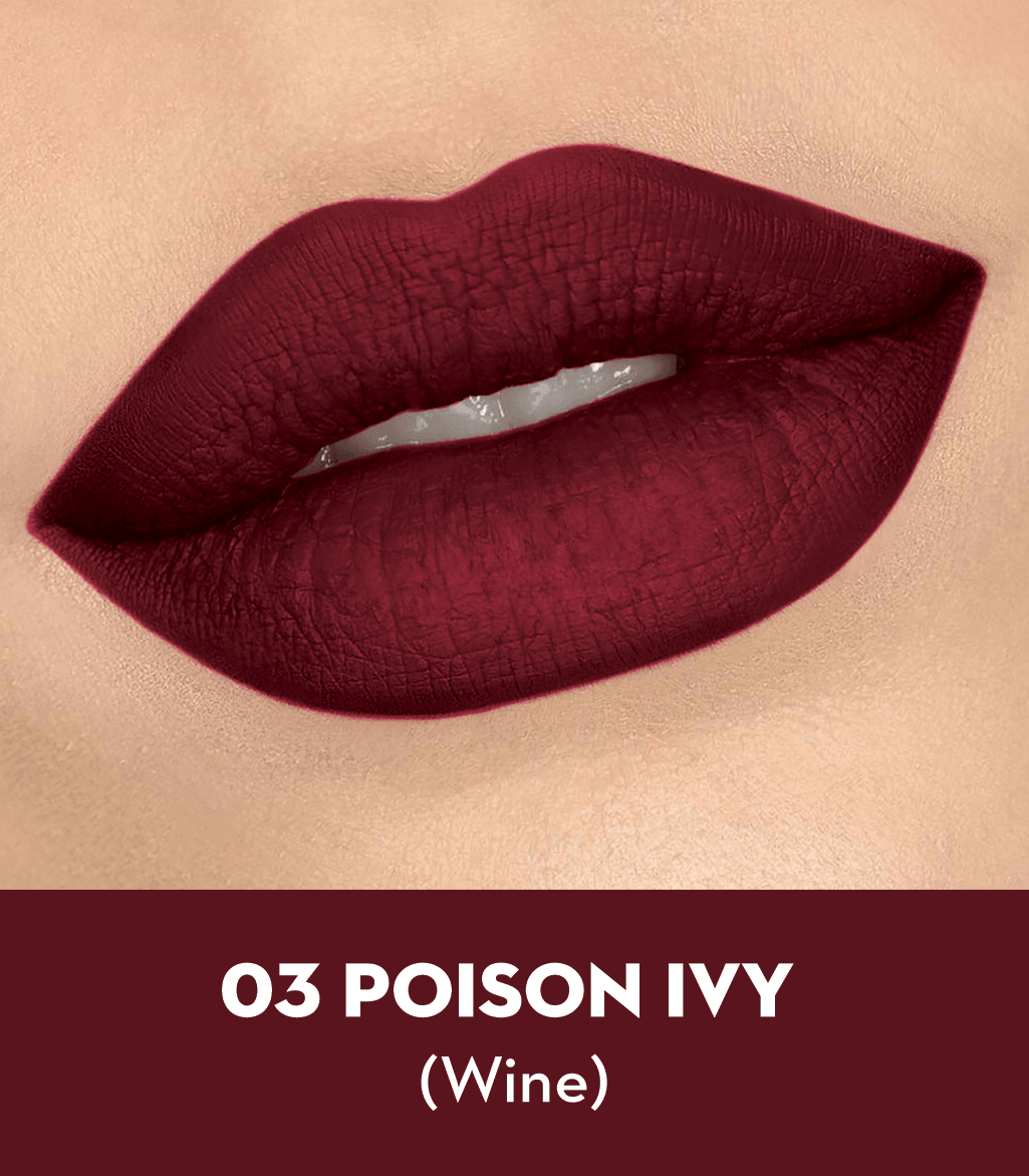 SUGAR Matte As Hell Crayon Lipstick - 03 Poison Ivy (Wine)