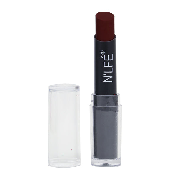 N'LFE Lipstick Powder Matte - PM113 (Chocolate Burgundy)