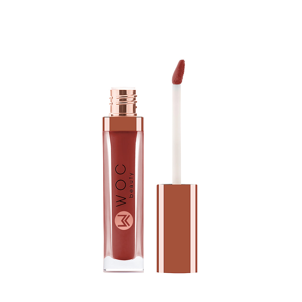 WOC Beauty Stellar Matte Lip Potion - Hotheaded (Brick Red)