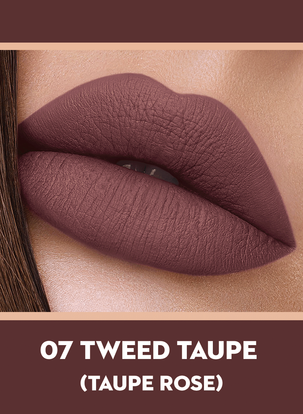SUGAR Suede Secret Matte Lipcolour