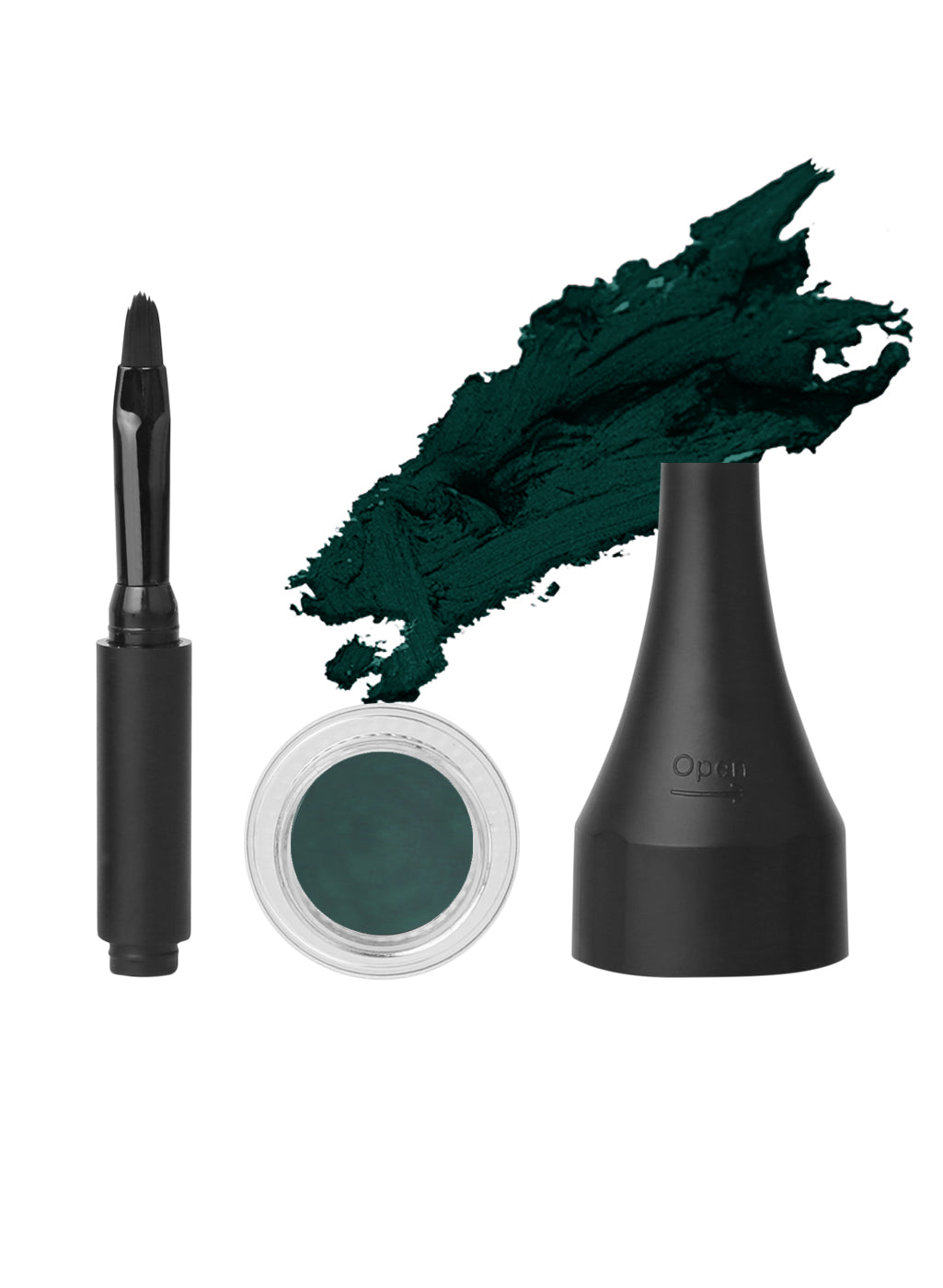 SUGAR Born To Wing Gel Eyeliner - 05 Green Eyes (Dark Green/ Deep Green)