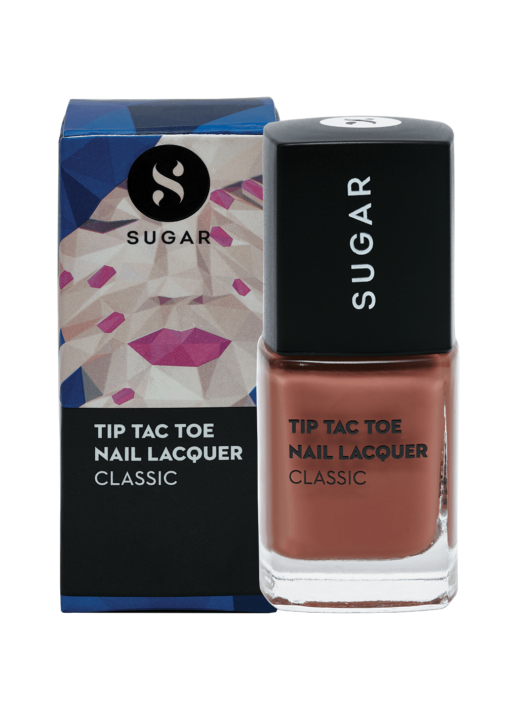 Tip Tac Toe Nail Lacquer - 006 Cookie Cutter (Medium Brown)