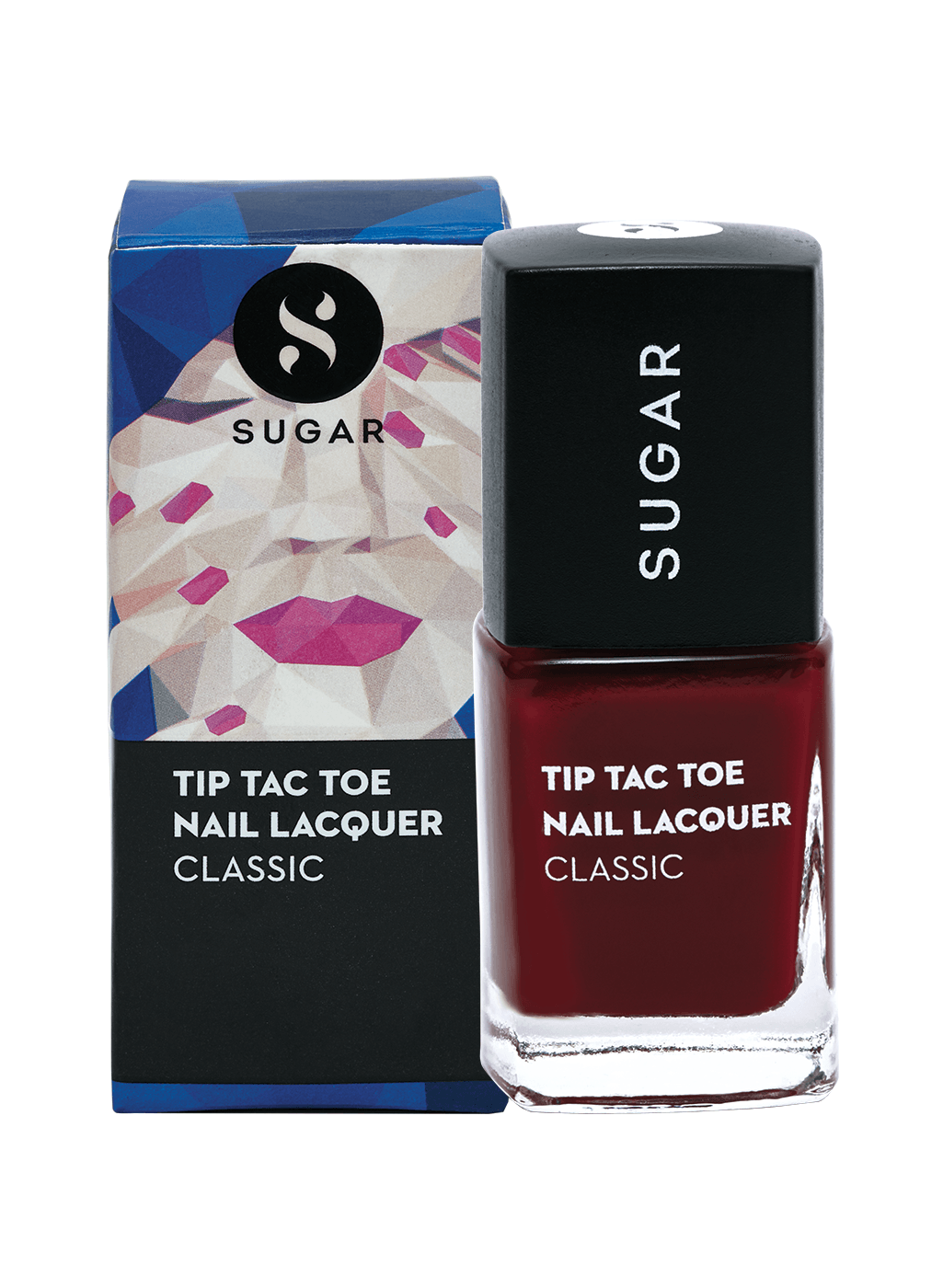 Tip Tac Toe Nail Lacquer - 059 Merlot The Merrier (Wine Red)