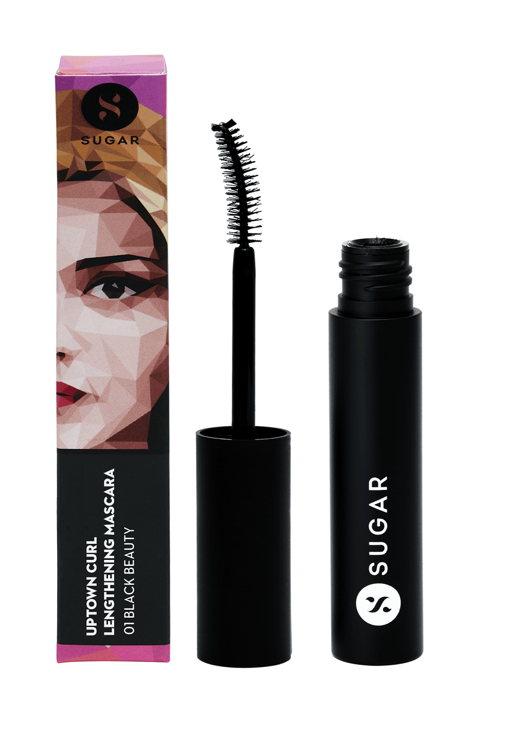 Uptown Curl Lengthening Mascara - 01 Black Beauty (Black)