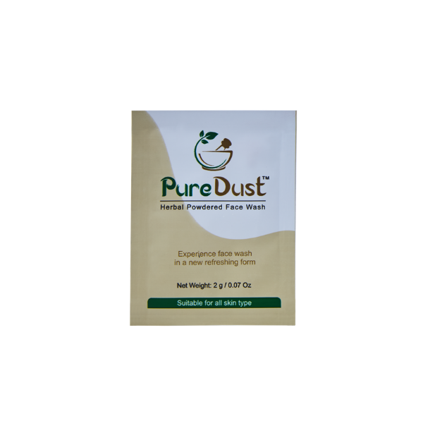 Pure Dust Herbal Powdered Face Wash
