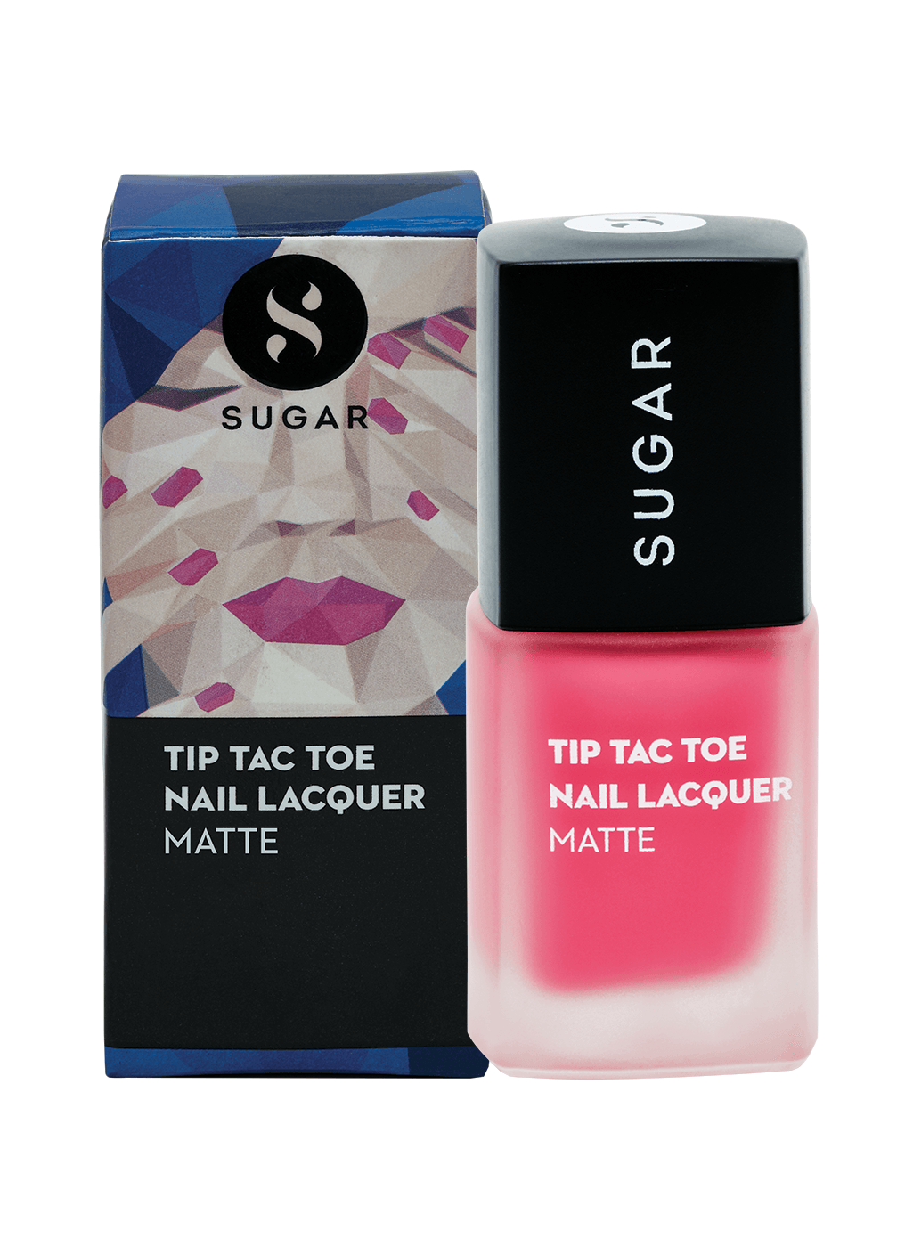 Tip Tac Toe Nail Lacquer - 027 Pinky Promise (Matte Hot Pink)