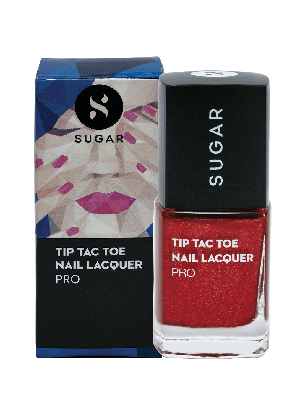 Tip Tac Toe Nail Lacquer - 061 Rise From The Red (Red Foil)
