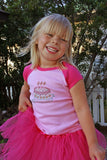 Birthday Girl Toddler Raglan Shirt