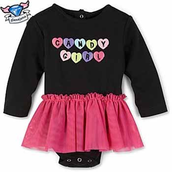 Candy Girl Sparkling Infant Bodysuit