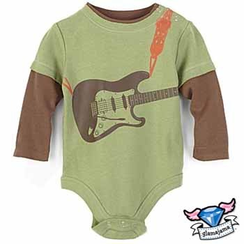 Rockin' Guitar Infant Bodysuit