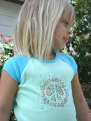Peace Toddler Raglan Shirt