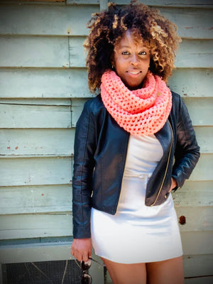 PEACHY QUEEN | The Simple Series Infinity Scarf