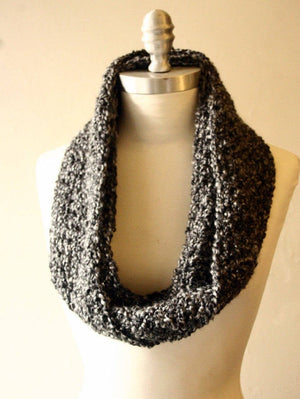 GREY | Signature Series Infinity Scarf (Mini)