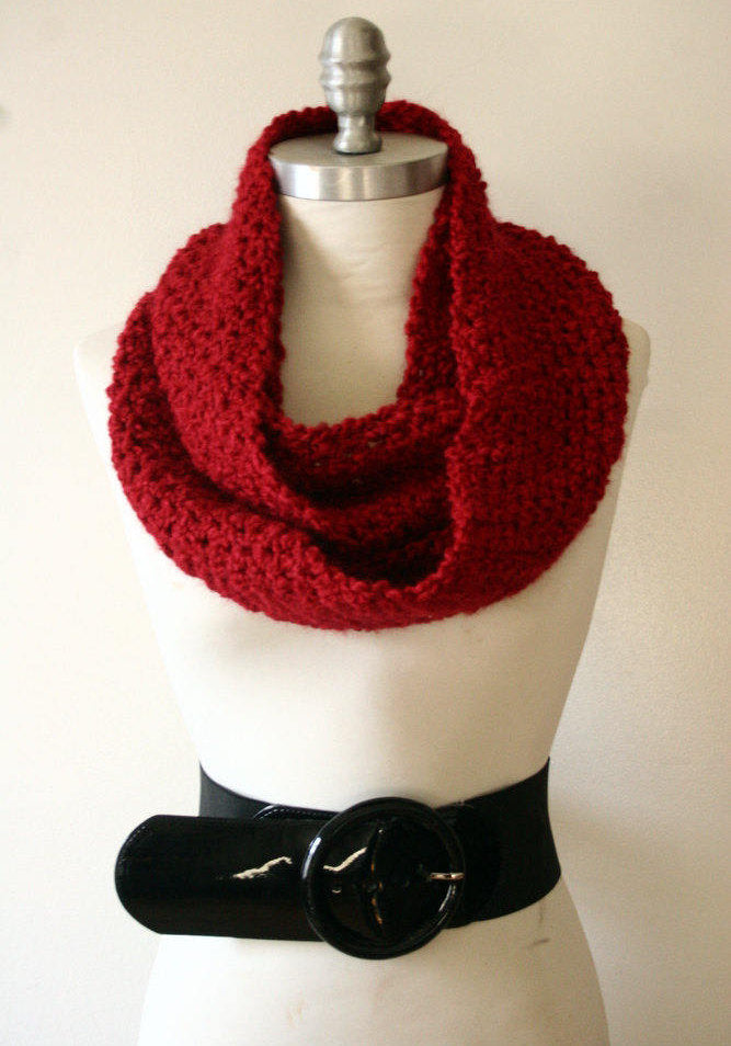 RED | Signature Series Infinity Scarf (Mini)