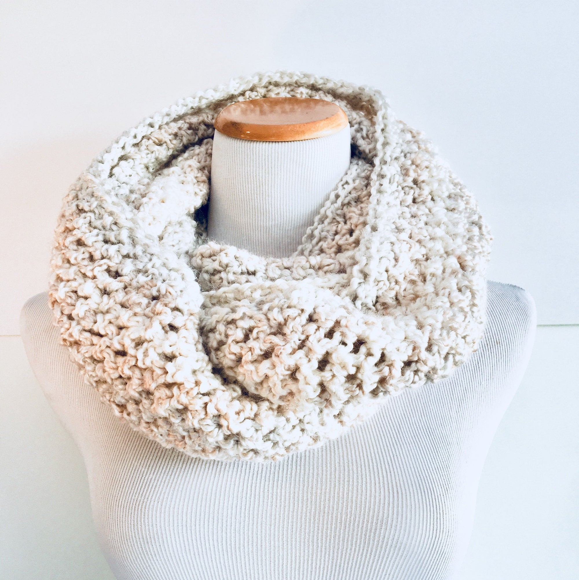 CREAM | Signature Series Infinity Scarf