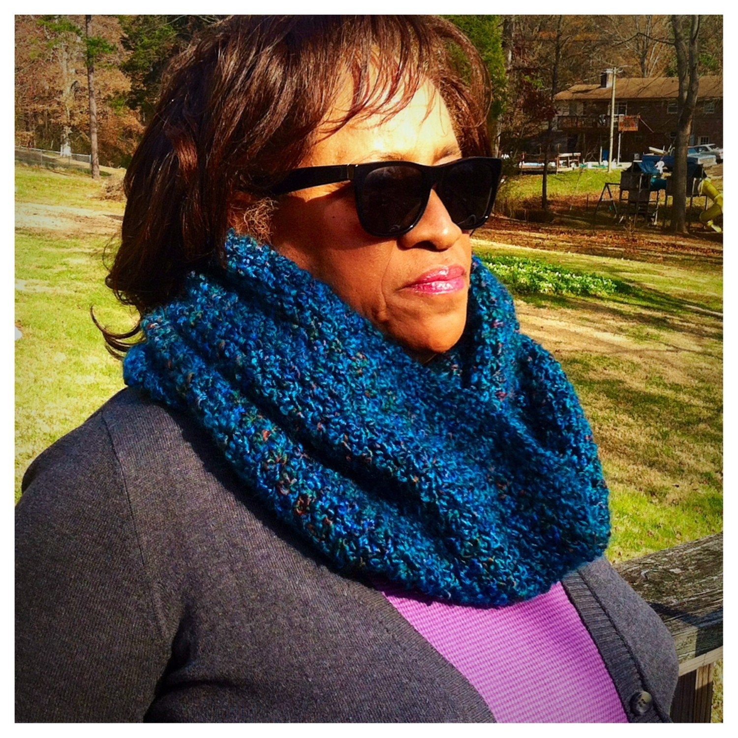 BLUE | Signature Series Infinity Scarf