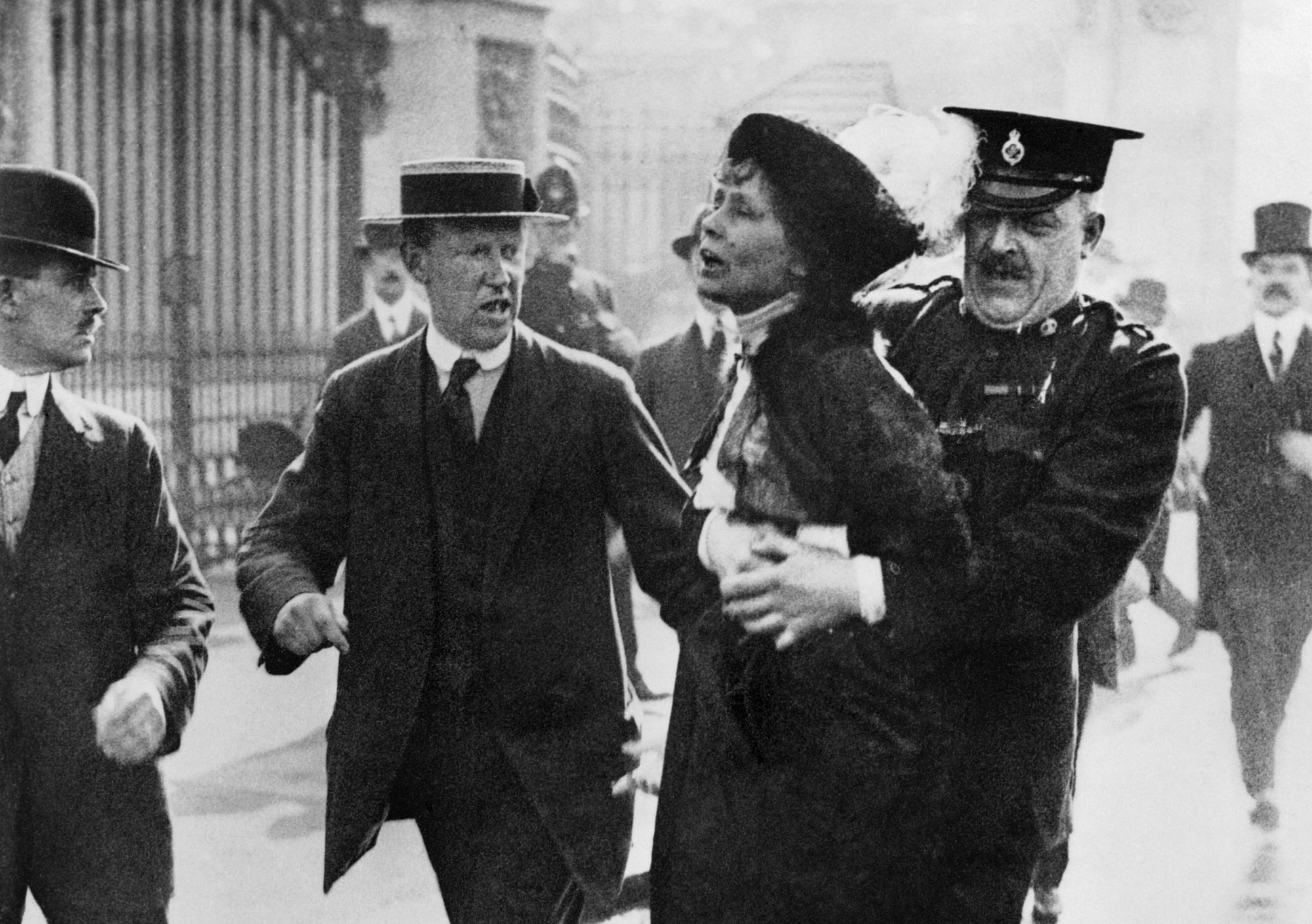Christabel and Emmeline Pankhurst and the Reasons the Suffragettes Were Ready to Go to Prison